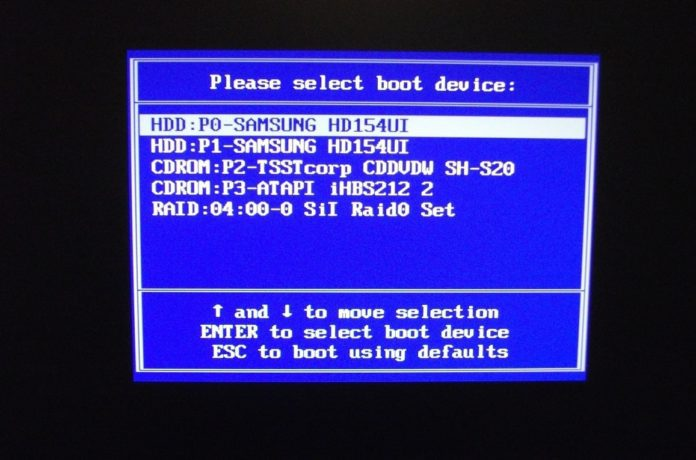 How to Quick Boot A USB or CD/DVD Directly from the Boot Menu