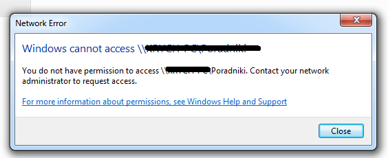 cannot access