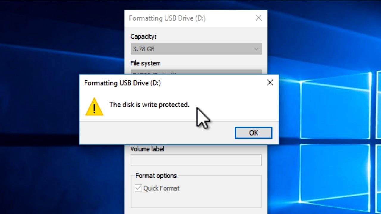 "usb flash drive write protected In that case you can also have ""write protection"" problem actually in flash drive  data is stored in an array of memory cells (each memory cell."