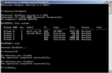 How To Fix Hard Disk Corrupted Boot Volume Deskdecode Com