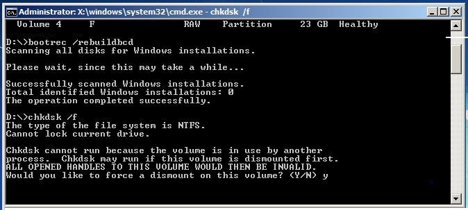 How To Fix Hard Disk Corrupted Boot Volume Mbr Of Windows