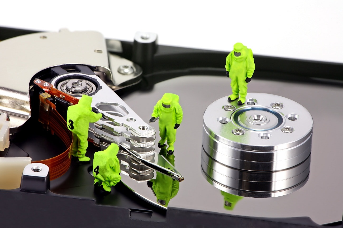 How to recover a hard disk and all information on it 67