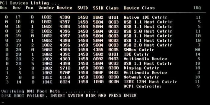 "Solutions To Fix, ""Disk Boot Failure Insert System Disk And"