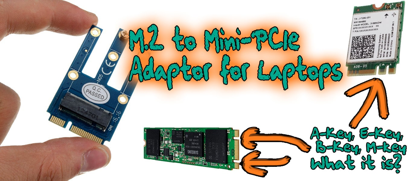 Pcie To M2 Adapter Nvme Ssd M2 Pcie X1 Raiser Pci-E Pci Express M Key Connector