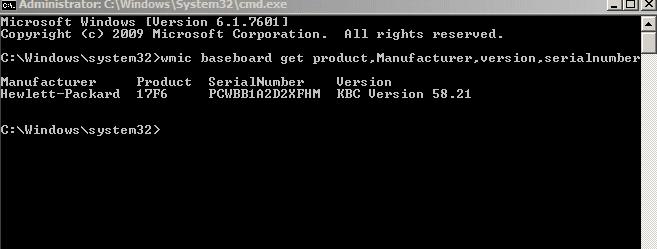 Cách kiểm tra Serial Number của laptop