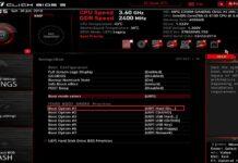 Photo Of ASUS UEFI BIOS Screen